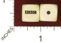 Dice : MINT32 HOMEMADE BRITISH BROADCASTING CORPORATION BBC 02