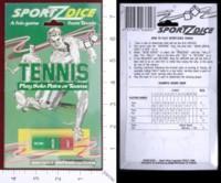Dice : DUPS03 TEVELE SPORTZDICE TENNIS 01