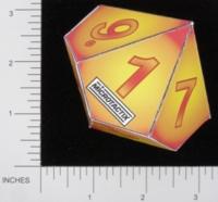Dice : PAPER D10 MICROTACTIX 05