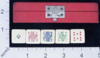 Dice : MINT1 UNKNOWN POKER 35 RED BOX