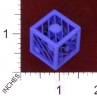Dice : MINT29 SHAPEWAYS MCTRIVIA D6 GRID DIE 02 06