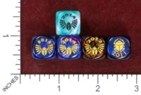 Dice : MINT49 CHESSEX FOR SCARAB CON