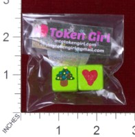 Dice : MINT38 TOKEN GIRL HEART CHRISTMAS TREE