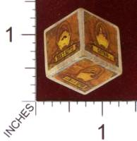 Dice : MINT30 PRINT AND PLAY PRODUCTIONS DUNE EXPRESS STEAMPUNK VARIANT LOCATION DIE 01