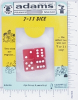 Dice : MINT14 ADAMS 01