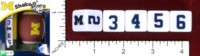 Dice : MINT46 MASTERPIECES SHAKE N SCORE UNIVERSITY OF MICHIGAN