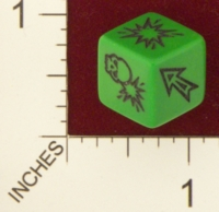 Dice : MINT19 CHESSEX BLOOD BOWL BLOCKING 01