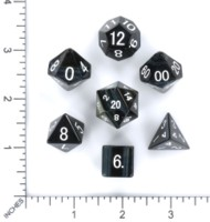Dice : MINT54 METALLIC DICE GAMES TIGERS EYE BLUE