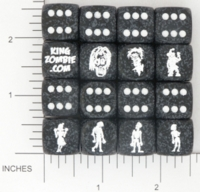 Dice : MINT15 KING ZOMBIE CHESSEX CUSTOM 09