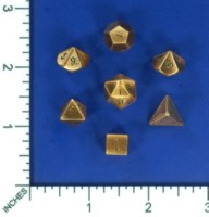 Dice : MINT57 CRYSTAL CASTE COPPER POLY SMALL