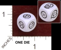 Dice : MINT34 KOPLOW SMILEY EXPRESSIONS 01