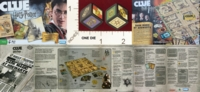 Dice : MINT20 PARKER BROTHERS CLUE HARRY POTTER EDITION 01