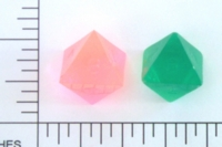 Dice : D8 TRANSLUCENT SHARP SOLID 1