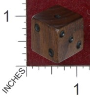 Dice : MINT36 GRYPHON DESIGN STUDIOS WALNUT