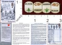 Dice : MINT33 KARIBEA THE ORIGINAL COCKOO CLOCK 01