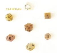 Dice : STONE MULTI CRYSTAL CASTE CARNELIAN