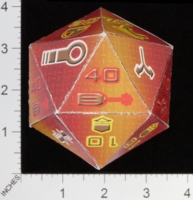 Dice : PAPER MULTI OVERSOUL GAMES MECHA ASIAN REBELLION COMBAT DICE 01