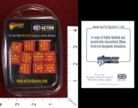 Dice : MINT34 WARLORD GAMES BOLT ACTION ORDER DICE RED 01