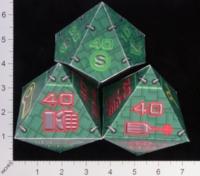 Dice : PAPER MULTI OVERSOUL GAMES MECHA SOVIET IMPERIUM COMBAT DICE 01