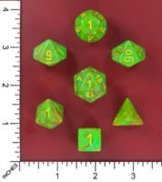 Dice : MINT52 CHESSEX 2016 COLORS VORTEX SLIME