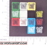 Dice : NUMBERED OPAQUE ROUNDED SOLID Q WORKSHOP MECHANICAL 02