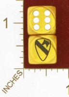Dice : MINT28 JSPASSNTHRU UNITED STATES FIRST CAVALRY 01