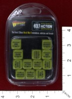 Dice : MINT39 WARLORD GAMES BOLT ACTION ORDER DICE 03