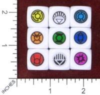 Dice : MINT48 BILL FORD COMICS DC LANTERN CORPS