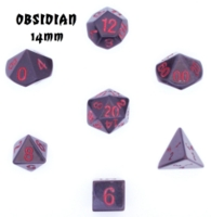 Dice : STONE MULTI CRYSTAL CASTE OBSIDIAN 02