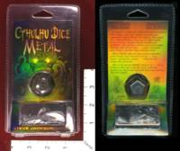 Dice : MINT32 STEVE JACKSON GAMES CTHULHU DICE METAL PEWTER 01