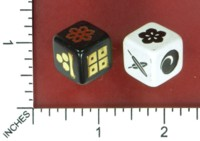 Dice : MINT52 EMMANUEL VALTIERRA JAPANESE SCROLLS PLAYING CARDS