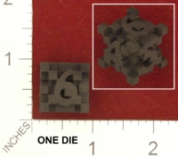 Dice : MINT25 SHAPEWAYS DIZINGOF CUBICLES D6 01