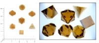 Dice : MINT60 GAMESCIENCE SOLID CLEAR