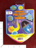 Dice : MINT49 ZION JUDAICA CHANUKAH FUN PUTTY IN A DREIDEL