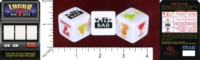 Dice : MINT45 KHEPER GAMES LUCKY BAR DICE