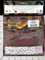 Dice : MINT28 TEMPLARS FORGE MAELSTOM GAMES MAELSTROM SWRIL DICE 01