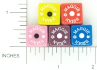 Dice : D6 OPAQUE ROUNDED SOLID GAMESTATION MAGGIE BRIAN