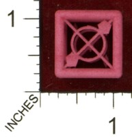 Dice : MINT43 SHAPEWAYS MCTRIVIA D6 GRID DIE 04 12