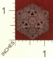 Dice : MINT27 SHAPEWAYS AEGIDIAN COMPANIONABLE D20 02