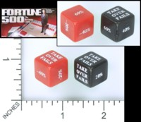 Dice : MINT54 PRESSMAN FORTUNE 500