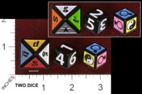 Dice : MINT34 MATTEL SCNENE IT SQUABBLE DELUXE 01