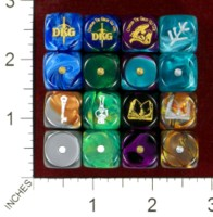 Dice : MINT42 DANN KRISS GAMES CTHULHU THE GREAT OLD ONE 02