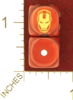 Dice : MINT26 CHESSEX MARVEL IRONMAN 01