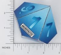 Dice : PAPER D10 MICROTACTIX 07