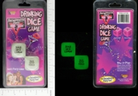Dice : MINT15 FORUM NOVELTIES DRINKING DICE GAME 01