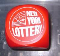 Dice : DUPS02 D6 NY LOTTERY