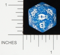 Dice : D20 OPAQUE ROUNDED SPECKLED MTG LIFE COUNTERS FUTURE SIGHT 02