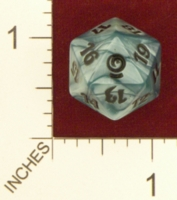 Dice : D20 OPAQUE ROUNDED SPECKLED MTG LIFE COUNTERS FROM THE VAULT RELICS 01