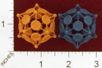 Dice : MINT23 SHAPEWAYS TWISTED IMAGE D20 SPIKES BIG AND THIN 01