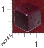 Dice : MINT36 GRYPHON DESIGN STUDIOS PURPLEHEART